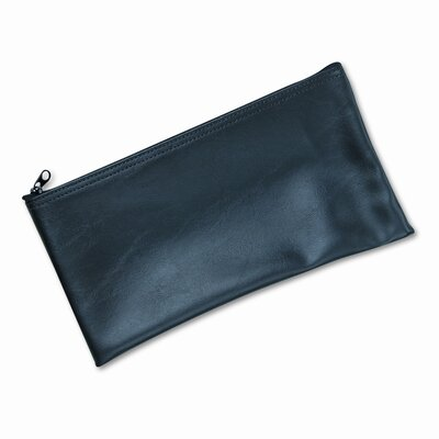 Leatherette Zippered Wallet Leather-Like Vinyl (Set of 2)