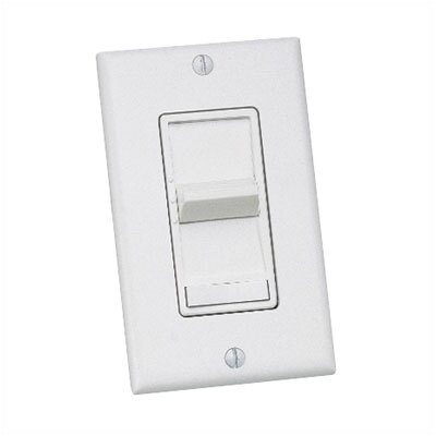 Three Speed and Three Way Ceiling Fan Remote Wall Control Finish: White