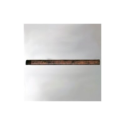 24 Ceiling Fan Downrod Color: Rust