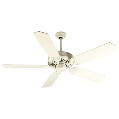 52 Emory 5-Blade Ceiling Fan Finish: Antique White