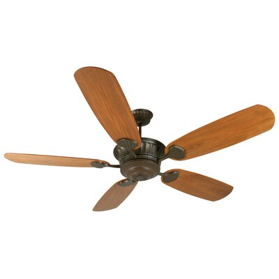 70 Sullivan Modern 5-Blade Ceiling Fan Finish: Aged Bronze Textured with Walnut Blades
