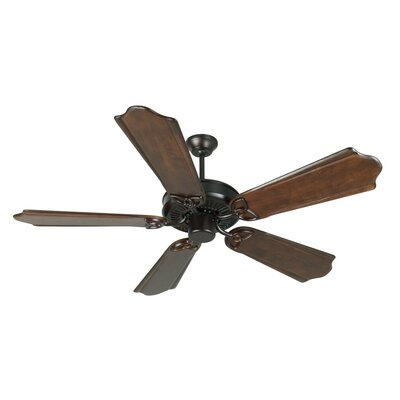 52 Holmstrom Antique 5-Blade Ceiling Fan Finish: Oiled Bronze with Classic Ebony Blades