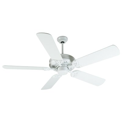 52 American Tradition 5-Blade Ceiling Fan Finish: White