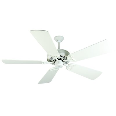 52 Holmstrom 5 Hand-Scraped Blade Ceiling Fan Finish: Antique White