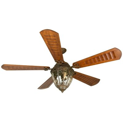 70 Oakhill 5-Blade Ceiling Fan with Downrod