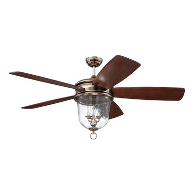 60 Collinson 5 Blade Reversible LED Ceiling Fan