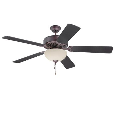 52 Abbot Bridge 5-Blade Ceiling Fan Finish: Oiled Bronze