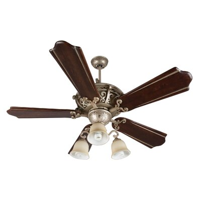 52 Whipkey 5-Blade Hardwired Ceiling Fan