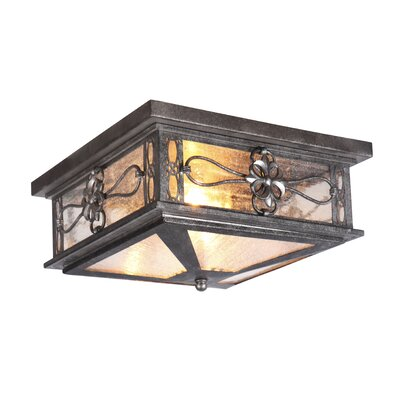 Caddy 2-Light Flush Mount