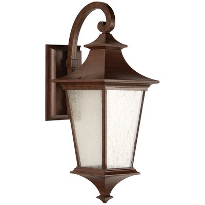 Argent II 2-Light Outdoor Wall Lantern Finish: Aged Bronze