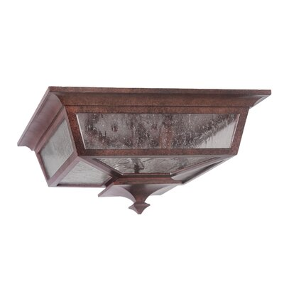 Chafin 3-Light Flush Mount Finish: Aged Bronze
