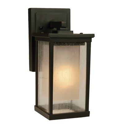 Riviera 1-Light Outdoor Wall Lantern Size: 20.88 H x 10 W x 12 D