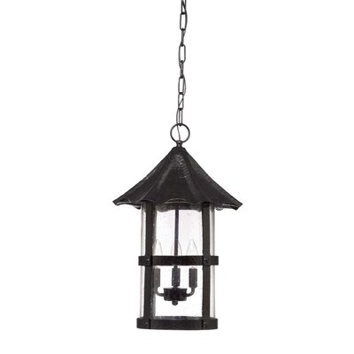 Willoughby 3-Light Outdoor Hanging Lantern