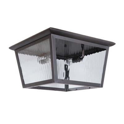 Staggs 2-Light Flush Mount