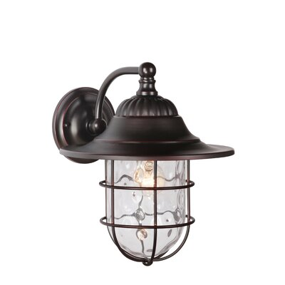 Fairmont 1-Light Outdoor Barn Light Size: 13.63 H x 11.5 W x 12.63 D