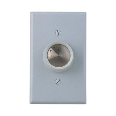 Four Speed Ceiling Fan Wall Control