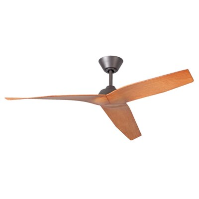 48 Brabham 3-Blade Ceiling Fan Finish: Espresso