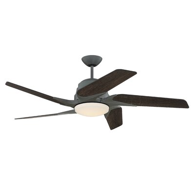 54 Fairman 5-Blade Ceiling Fan Finish: Aged Galvanized