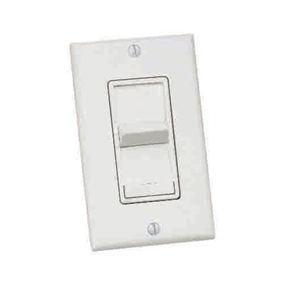 Three Speed and Three Way Ceiling Fan Remote Wall Control Color: Almond