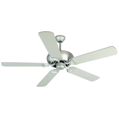 52 Duquesne 5-Blade Reversible Ceiling Fan Fan Finish: Brushed Nickel
