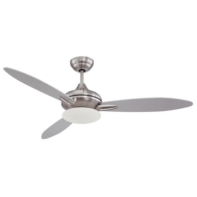 52 Loris 3-Blade Ceiling Fan with Wall Remote