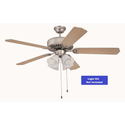 52 Greenbrier Valley 5-Blade Ceiling Fan Finish: Maple