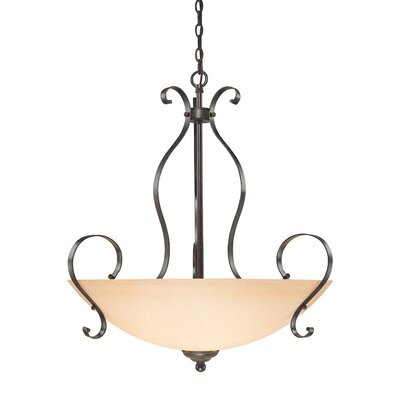 Brookfield 5-Light Inverted Pendant