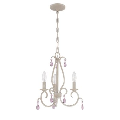 Graciela 3-Light Candle-Style Chandelier