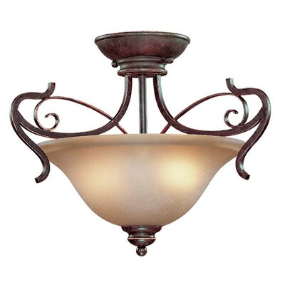 Melba 2-Light Semi Flush Mount