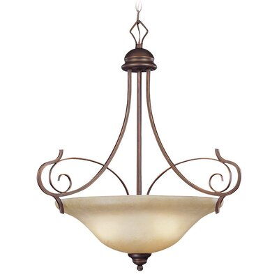 Melba 3-Light Inverted Pendant