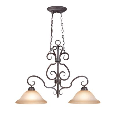 Nettie 2-Light Kitchen Island Pendant