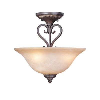 Nettie 3-Light Semi Flush Mount