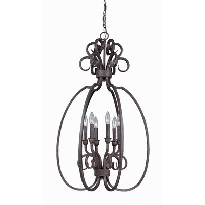 Nettie 6-Light Foyer Pendant