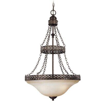 Brookshire Manor 3-Light Inverted Pendant