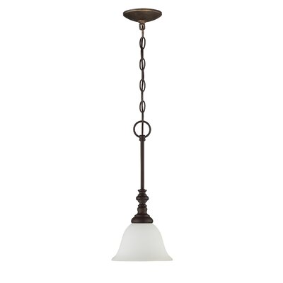 Chalfont 1-Light Pendant Finish: Metropolitan Bronze