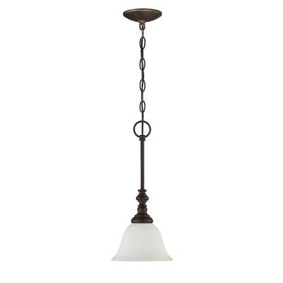 Chalfont 1-Light Pendant Color: Metropolitan Bronze
