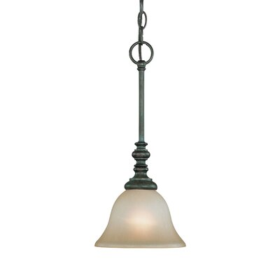 Chalfont 1-Light Pendant Color: Mocha Bronze
