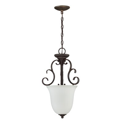 Chalfont 3-Light Inverted Pendant Finish: Metropolitan Bronze