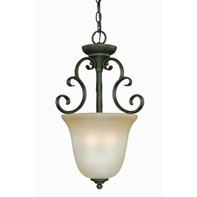 Chalfont 3-Light Inverted Pendant Finish: Mocha Bronze