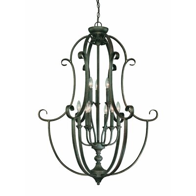 Barret Place 9-Light Foyer Pendant