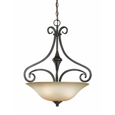 Torrey 3-Light Inverted Pendant