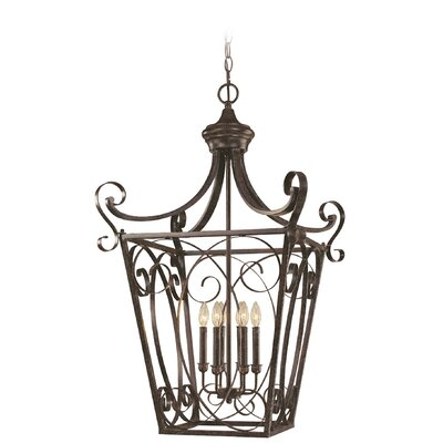 Wilhoit 6-Light Foyer Pendant