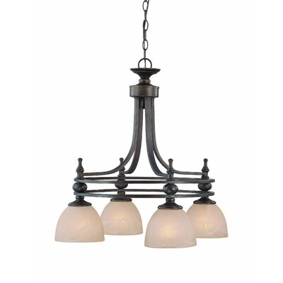 Moseley 4-Light Shaded Chandelier