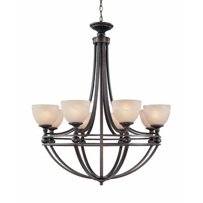 Moseley 8-Light Shaded Chandelier