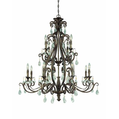 Lilliane 12-Light Crystal Chandelier
