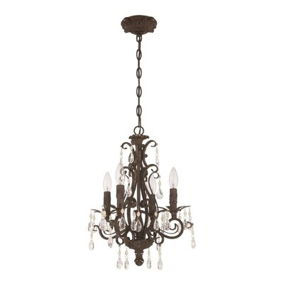 Lilliane 4-Light Candle-Style Chandelier