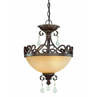 Lilliane 2-Light Semi Flush Mount