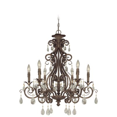 Lilliane 6-Light Crystal Chandelier