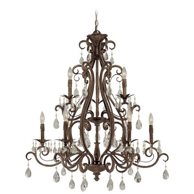 Englewood 9-Light Crystal Chandelier