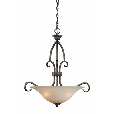 Charter Oak 3-Light Pendant